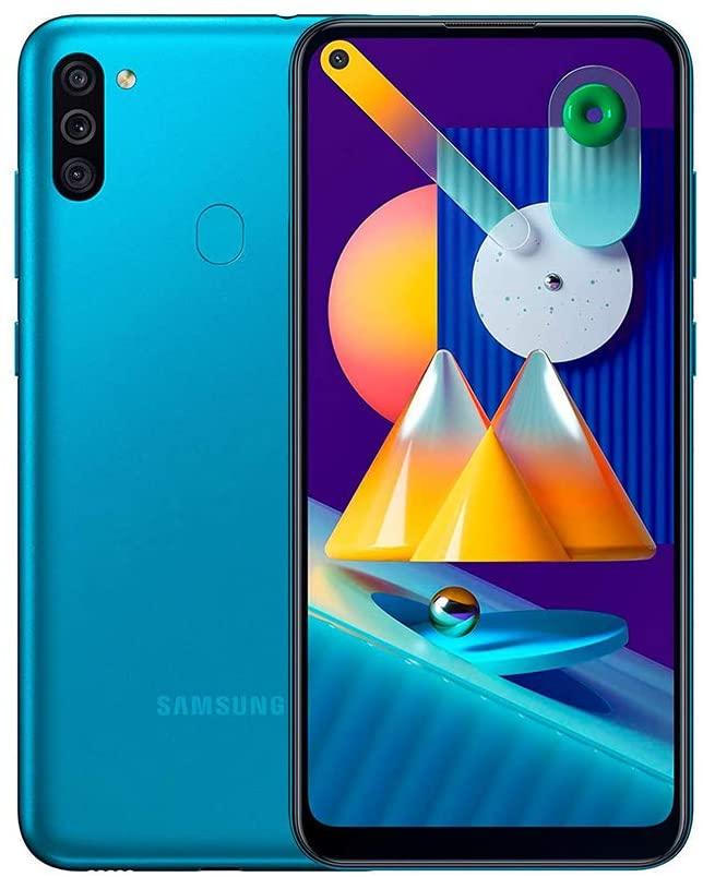 Samsung Galazy M11 Pantalla 6.4 resolucion 720 x 1650 5000mha-3gb-32gb-azul